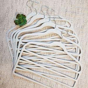 6 pack velvet hangers